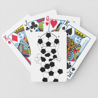 Soccer Football Ball pattern design Bicycle Playing Cards