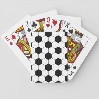 Soccer Football Ball Texture Playing Cards