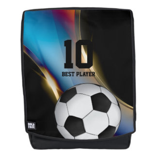 Soccer | Football Best Player No. Backpack