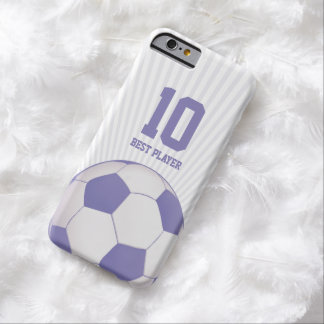 Soccer | Football Best Player No. Barely There iPhone 6 Case