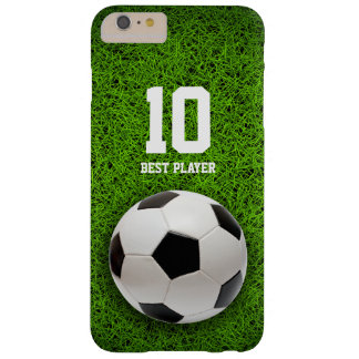 Soccer | Football Best Player No. iPhone 6 Plus Case