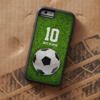 Soccer | Football Best Player No. Tough Xtreme iPhone 6 Case