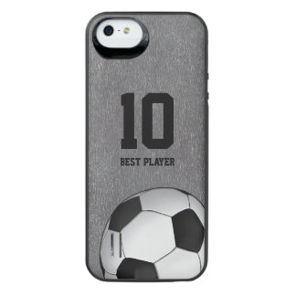 Soccer | Football Best Player Nomber iPhone SE/5/5s Battery Case