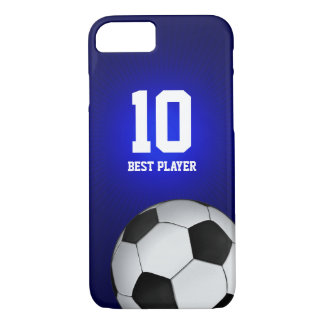 Soccer | Football Best Player Number iPhone 8/7 Case