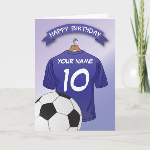 soccer birthday cards zazzle