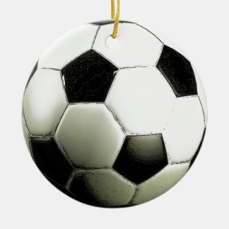 Soccer - Football Ceramic Ornament