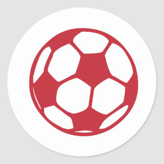 Soccer / Football Classic Round Sticker