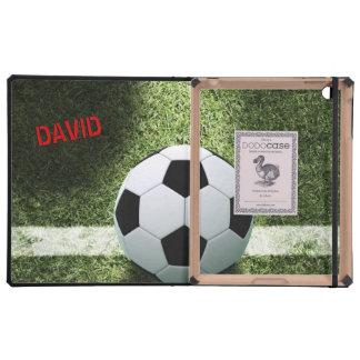 SOCCER FOOTBALL DODOcase iPad Folio Case
