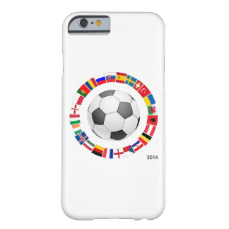 Soccer Football European Championship 2016 Barely There iPhone 6 Case