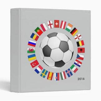 Soccer Football European Championship 2016 Binder