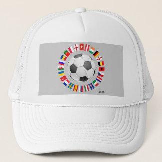 Soccer Football European Championship 2016 Trucker Hat