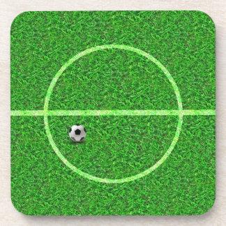 Soccer Football Field Ball - Cork Coaster
