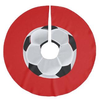 Soccer Football Futbol Ball Brushed Polyester Tree Skirt