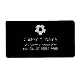 Soccer Football Futbol Ball Label