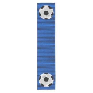 Soccer Football Futbol Ball Short Table Runner