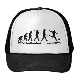 Soccer Football Futbol Sport Evolution Art Mesh Hat