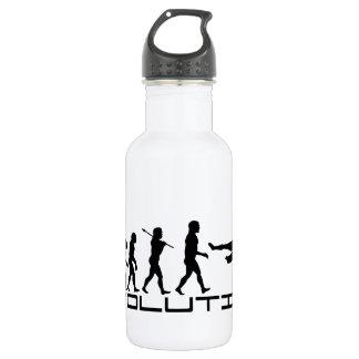 Soccer Football Futbol Sport Evolution Art Water Bottle