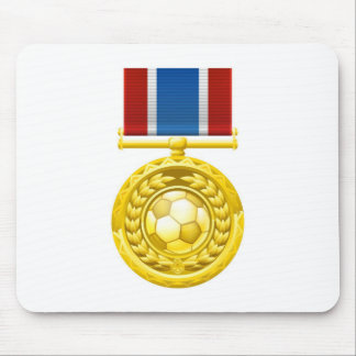 Soccer football medal mouse pads