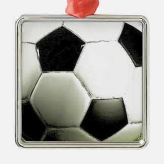 Soccer - Football Metal Ornament