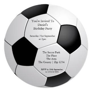 Soccer / Football Party Card