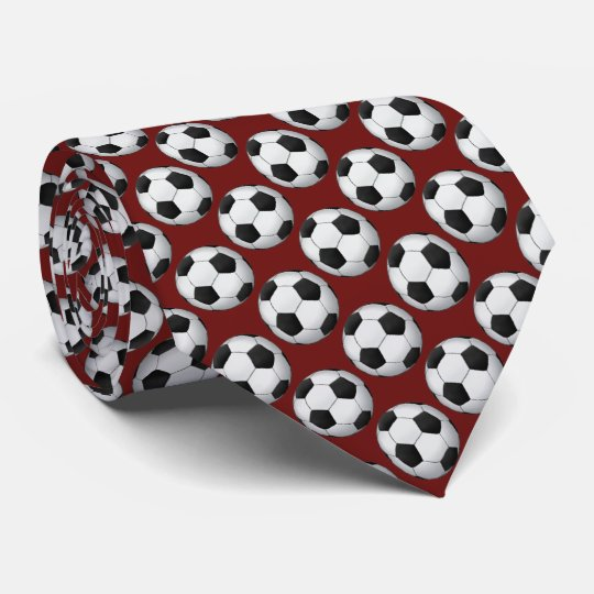 Soccer | Football Pattern Tie