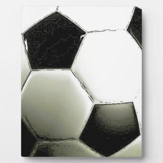 Soccer - Football Plaque