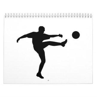 Soccer Football Player Calendar