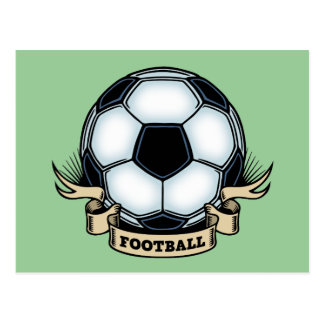 Soccer - Football Postcard