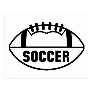 Soccer Football Postcard