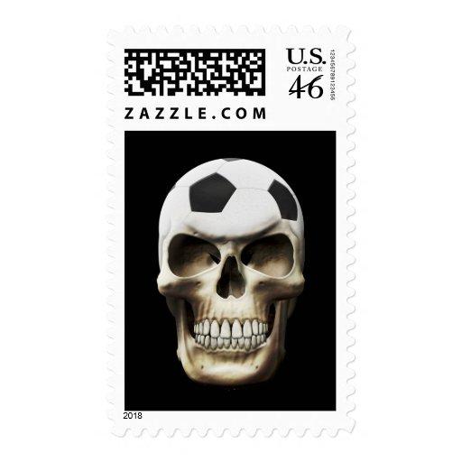 Soccer (Football) Skull Stamps
