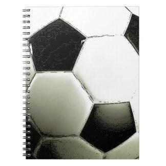 Soccer - Football Spiral Notebook