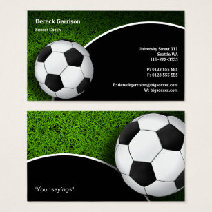 Soccer business cards morenpulsar soccer business cards colourmoves
