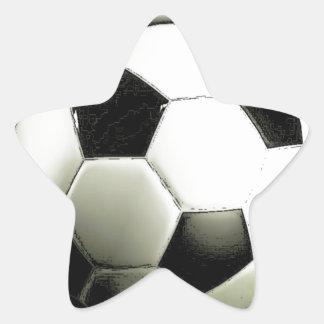 Soccer - Football Star Sticker