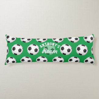 Soccer/Football themed Personalised Body Pillow