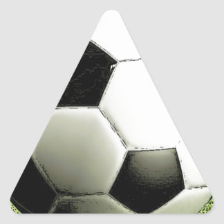 Soccer - Football Triangle Sticker