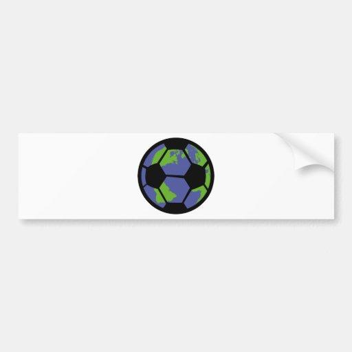 Soccer football World worldcup 2014 Bumper Sticker