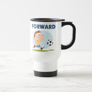 Soccer Forward T-shirts and Gifts 15 Oz Stainless Steel Travel Mug