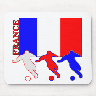 Soccer France Mouse Pad