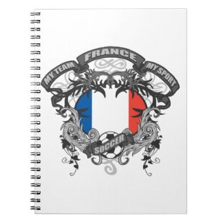 Soccer France Notebook