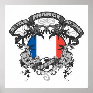 Soccer France Poster