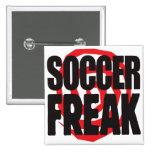 Soccer Freak Buttons