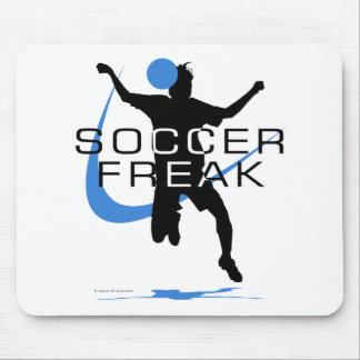 Soccer Freak - Girls - Blue Mouse Pad