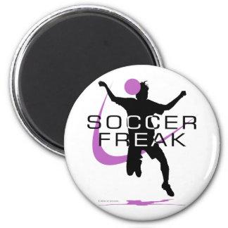Soccer Freak - Girls - Pink Magnets