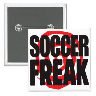 Soccer Freak Pinback Button