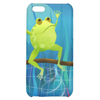 Soccer Frog at night - iphone case iPhone 5C Cases