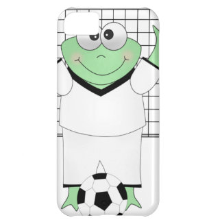 Soccer Frog with Goldie Cover For iPhone 5C