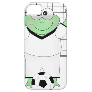 Soccer Frog with Goldie iPhone 5 Cases