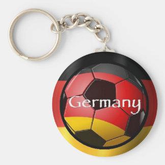 Soccer futbal Germany Rio Brazil Keychain