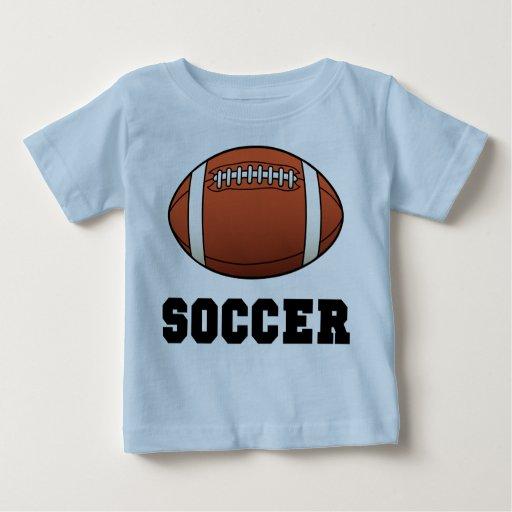 Soccer Futball Football Baby T-Shirt