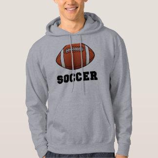 Soccer Futball Football Hooded Pullover